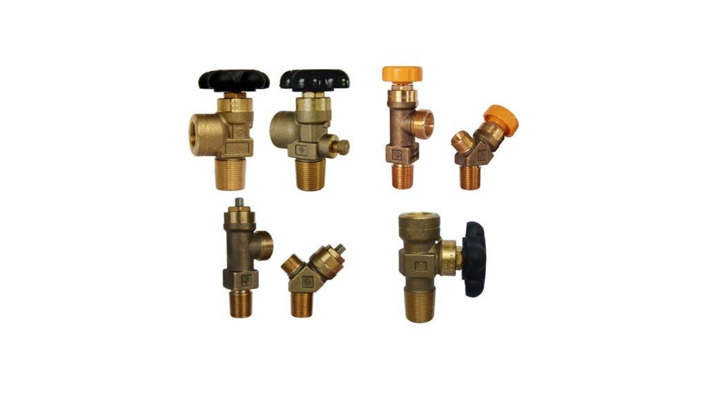 Tekno Valves' range of Acetylene valves