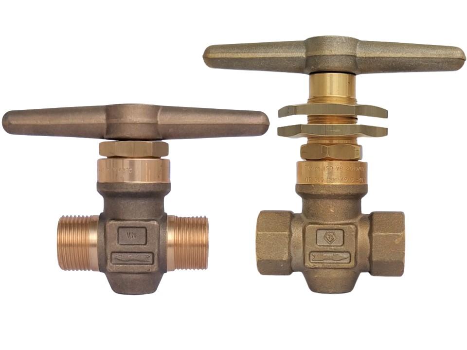 Hand operated master shut off valve